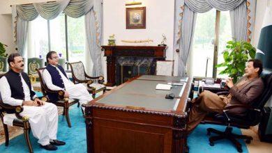 Photo of وزیراعظم سے وزیراطلاعات ومعاون خصوصی اطلاعات کی ملاقات