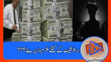Photo of مشرف کی براڈ شیٹ کو بھجوائی مبینہ ملزمان کی لسٹ میں سے کون کون بعد میں وزیر بنا؟؟؟
