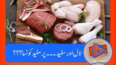 Photo of تحقیق کے مطابق کونسا گوشت زیادہ مفید قرار۔۔۔