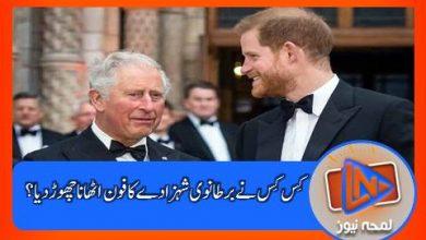 Photo of کِس کِس نے برطانوی شہزادے کا فون اٹھانا چھوڑ دیا ؟؟؟ شہزادہ ہیری کی ذہنی حالت کیا ہو گئی؟؟؟