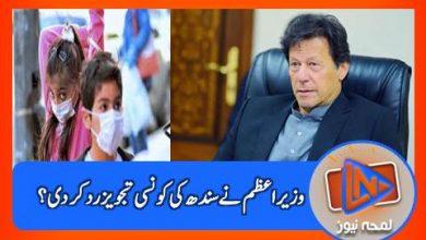 Photo of سندھ کی تجویز مسترد، ہم مکمل لاک ڈاؤن کے متحمل نہیں ہوسکتے، وزیراعظم