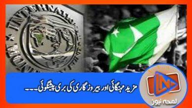 Photo of پاکستان میں رواں مالی سال مہنگائی اور بیروزگاری بڑھے گی: آئی ایم ایف