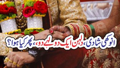 Photo of انوکھی شادی، دلہن ایک دولہےدو،، پھر کیا ہوا؟