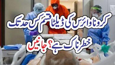 Photo of کرونا وائرس کی ڈیلٹا قسم کس حد تک خطرناک ہے؟جانیں