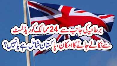 Photo of برطانیہ کی جانب سے 24 ممالک کو ریڈ لسٹ  سے نکالے جانے کا امکان،پاکستان شامل ہے یا نہیں ؟