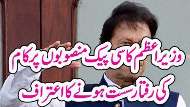 Photo of وزیر اعظم کا سی پیک منصوبوں پر کام کی رفتار سست ہونے کا اعتراف