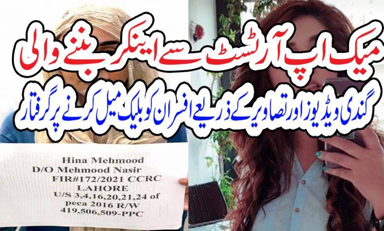 female anchor hina mehmood dogar